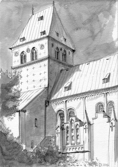 Ratzeburger Dom, Ink, 2012